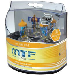 Галогенные лампы MTF Light H1 12v 55w - Aurum, компл