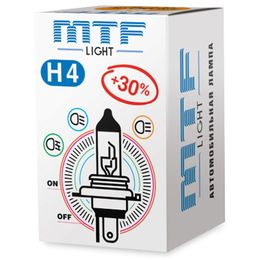 Галогенная лампа MTF Light HB5 9007 12v 65/55w Standard+30%, VANADIUM, 1 шт.