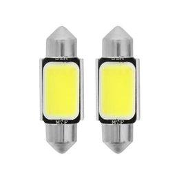 C5W (SV8.5/36mm) Светодиодная автолампа MTF Light COB45C5W, 4500К, COB LED