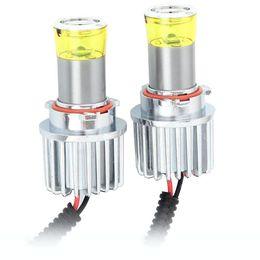 PSX26W Набор автомобильных светодиодных ламп MTF Light FL11326 в ПТФ 12/24В, 3000К BL