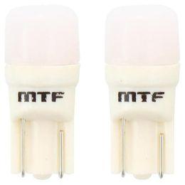 W5W/T10 (W2.1x9.5d) Светодиодная автолампа MTF Light W5W50MT, 5000К, линза матовая