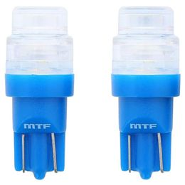 W5W/T10 (W2.1x9.5d) Светодиодная автолампа MTF Light W5W55OPT, 5500К, линза из оптоволокна NICHIA LED
