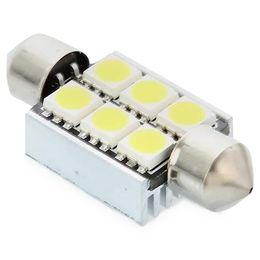 """C5W (SV8.5/36mm) Лампа светодиодная MTF Light C5W50CAN 5000K с """"обманкой"""", белый"""