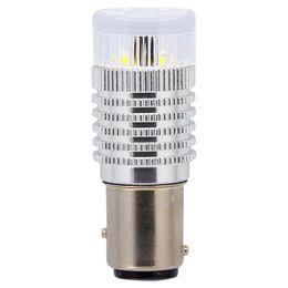 P21/5W (BAY15d) Светодиодная лампа автомобильная MTF Light P21/5W360R, линза 360°, красная