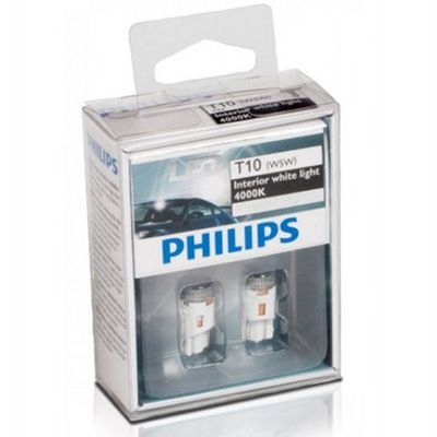 Лампа Philips Fest10.5x38 2LED 12858 4000K 12V 1W