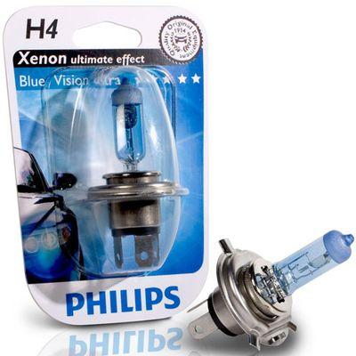 Лампа Philips H4 12342 BVU 12V 60/55W P43t-38 B1
