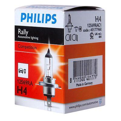 Лампа Philips H4 12569 RA 12V 100/90W P43t-38 C1 Philips купить - Интернет-магазин Msk-Auto.com