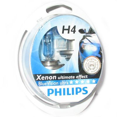 Лампа Philips H4 12342 BVU 12V 60/55W P43t-38 SM Philips купить - Интернет-магазин Msk-Auto.com