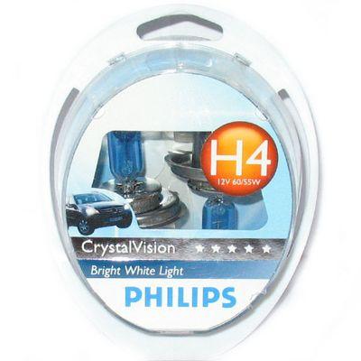Лампа Philips H4 12342 CV 12V 60/55W SM