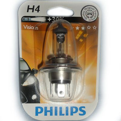 Лампа Philips H4 12342 PR 12V 60/55W P43t-38 B1