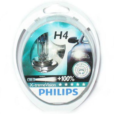 Лампы Philips H4 12342 XV 12V 60/55W P43t-38 S2
