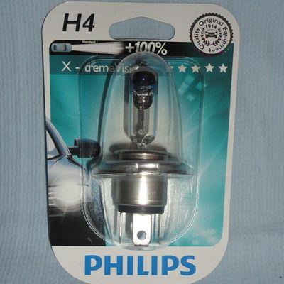 Лампа Philips H4 12342 XV 12V 60/55W P43t-38 B1
