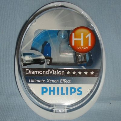 Лампа Philips H1 12258 DV 12V 55W S2