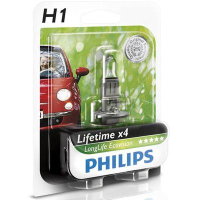 Лампа Philips H1 12258 LLECO 12V 55W B1