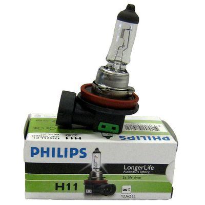 Лампа Philips H11 12362 LLECO 12V 55W C1