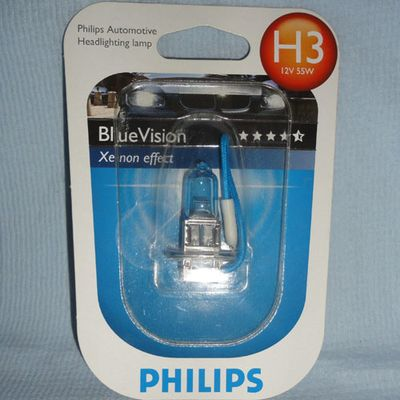 Лампа Philips H3 12336 BV+ 12V 55W B1