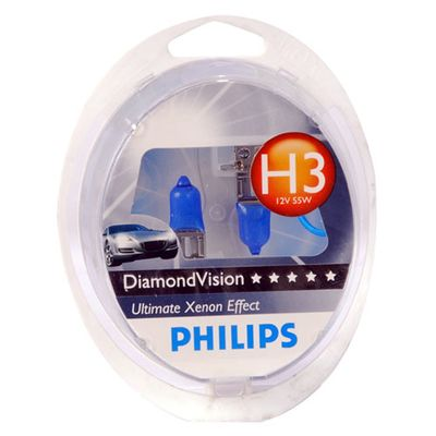 Лампа Philips H3 12336 DV 12V 55W S2 - Интернет-магазин Msk-Auto.com приобрести