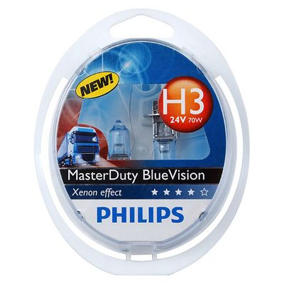 Лампа Philips H3 13336 MDBV 24V 70W PK22s S2 Philips купить - Интернет-магазин Msk-Auto.com