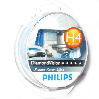 Лампа Philips H4 12342 DV 12V 60/55W S2