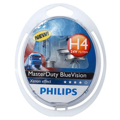 Лампа Philips H4 13342 MDBV 24V 75/70W P43T S2