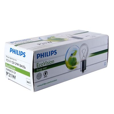 Лампа Philips P21W 12498 ECO 12V CP