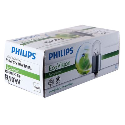 Лампа Philips R10W 12814 ECO 12V CP