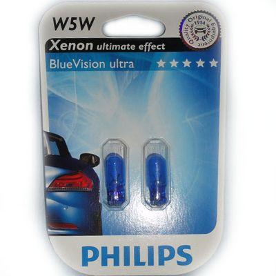 Лампы Philips W5W 12961 BV 12V B2