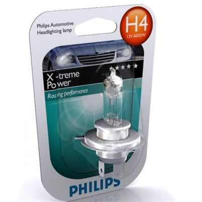 Лампа Philips H4 12342 XP 12V 60/55W P43t-38 S1