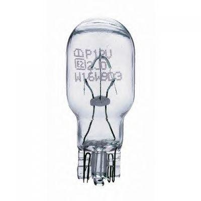 Лампа Philips W16W 12067 12V B2