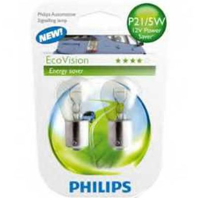 Лампа Philips P21W 12498 ECO 12V B2