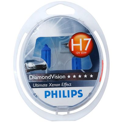 Лампы Philips H7 12972 DV 12V 55W S2