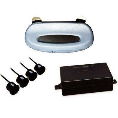 Парковочный радар, светодиодный дисплей SVS LED 004, 4 датчика (черный, серебро)