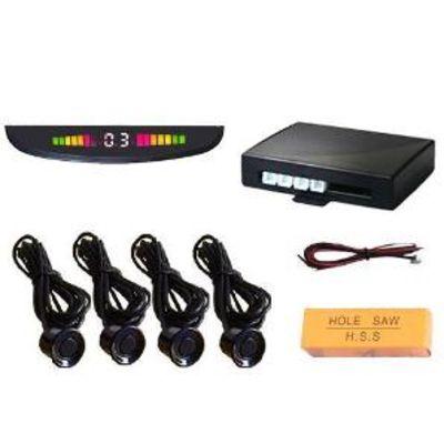 Парктроники Паркпрофи Р4462 (цифровой дисплей, 4 датчика), комплект