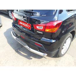 Защита заднего бампера Mitsubishi ASX/Citroen C4 Aircross/Peugeot 4008