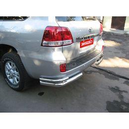 Защита заднего бампера Toyota LAND CRUISER 200 07+/LEXUS LX570 07+