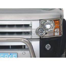 Защита фар головного света Land Rover DISCOVERY III 05+