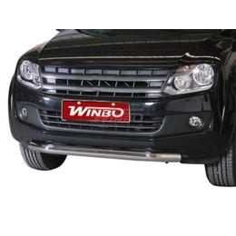Защита переднего бампера нерж. VW Amarok 2010+ (76 mm)