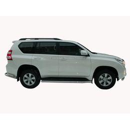 Защита штатного порога Toyota LAND CRUISER PRADO FJ150 2009+