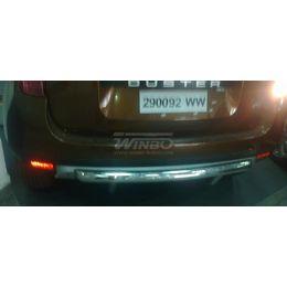 Защита заднего бампера Renault DUSTER 2010+ (версия 4x2)