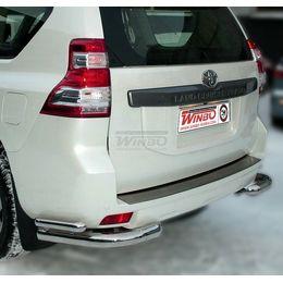 Защита заднего бампера Toyota LAND CRUISER PRADO FJ150 2009+