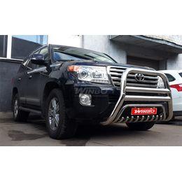 Защита переднего бампера LEXUS LX570 2007+, 2013+ / Toyota LC200 2007+