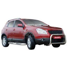 Защита переднего бампера Nissan QASHQAI 2007-2013