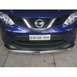 Защита переднего бампера Nissan Qashqai 2014+ (63 mm)