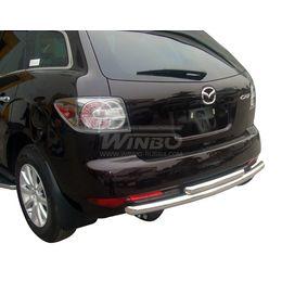Защита заднего бампера Mazda CX-7 10+