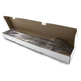 Сетка на бампер внешняя для ГАЗель NEXT 2014-, 2 шт., чёрная, 15 мм