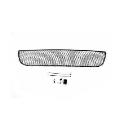 Сетка на бампер внешняя для Daewoo Matiz 2014-, чёрная, 15 мм