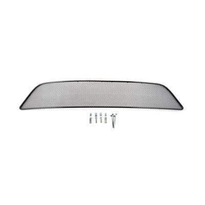 Защитная сетка радиатора в бампер для BRILLIANCE V5 2014-, чёрная, длина ячейки 10 мм