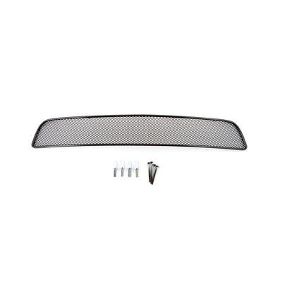 Защитная сетка радиатора в бампер для Chevrolet Cruze 2009-2013, чёрная, 10 мм