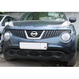 Сетка на бампер внешняя для Nissan Juke 2010-2014, 3 шт., чёрная, 15 мм
