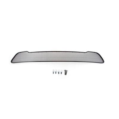 Защитная сетка радиатора в бампер для CHEVROLET CRUZE 2013-, чёрная, длина ячейки 15 мм